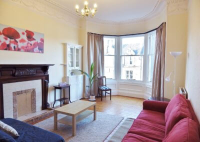 NOW LET – Fantastic 2 bed flat on Warrender Park Road